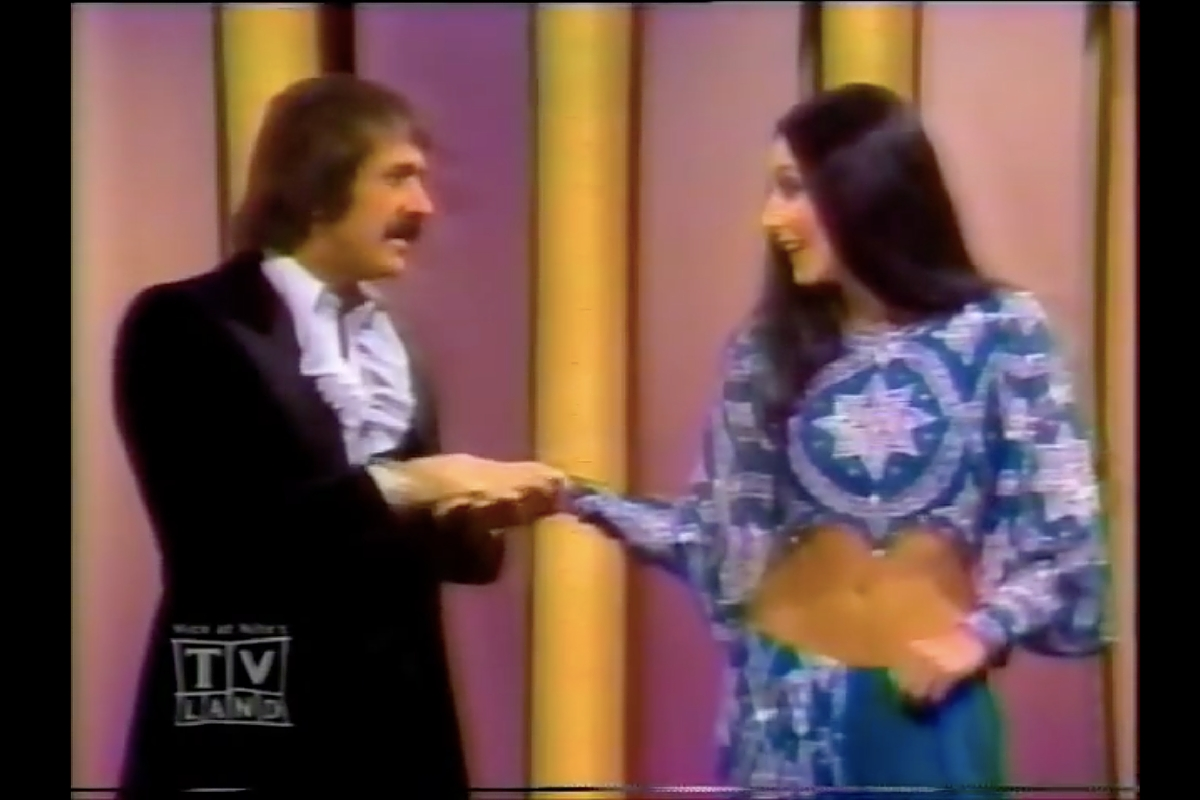 "The duo banter on ""The Sonny and Cher Show""Credit: Youtube"